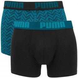 a22847722c Puma pánské boxerky graphic print blue black long 2 pack alternativy ...
