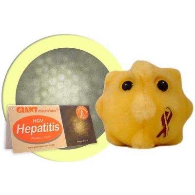 Žloutenka - plyšový mikrob (B30)
