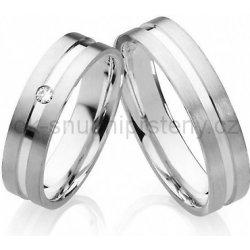 Luxusni Snubni Prsteny Z Chirurgicke Oceli Oc1022 Od 1 990 Kc