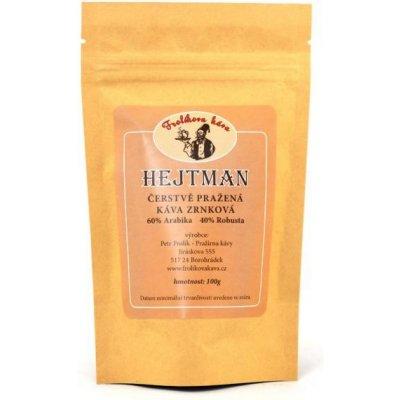 Frolíkova čerstvá zrnková káva Hejtman 250 g