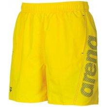 8c23b5409a9 Arena Fundamentals logo boxer pánské koupací šortky yellow star royal