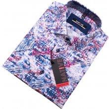 a77ad037bc8 Native pánská košile s krátkým rukávem modrá 120308