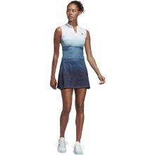 bf7e8546020a Adidas Performance šaty Parley dress bílá modrá