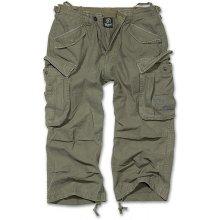 Tříčtvrteční kalhoty Industry vintage Brandit olivové
