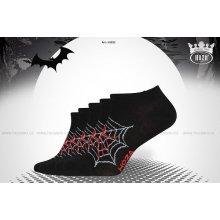 Hoza dámské kotníkové ponožky pavoučci 5 párů 9ed8d5e07a