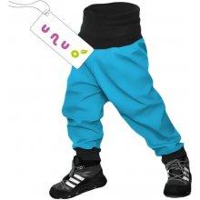 Unuo dětské softshellové kalhoty tyrkysové