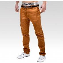 Ombre clothing kalhoty Daedalus hnědé