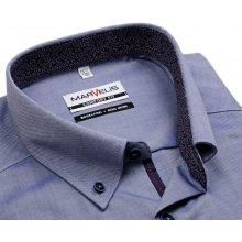 Marvelis Comfort Fit – košile s modro-bílým rastrováním af4f46439a