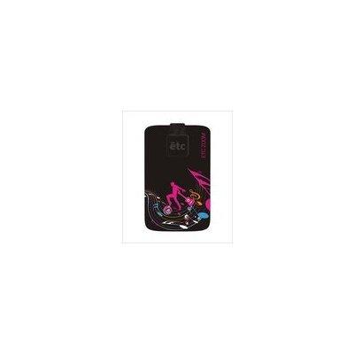 Pouzdro ETC ZOOM Samsung S6500 GALAXY MINI II G130HN GALAXY YOUNG 2 ALCATEL POP C1 vzor 320