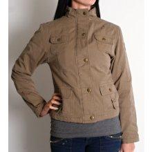 Heavy Tools dámská bunda jarně podzimní zateplená Látková NIVIVE KHAKI