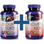 Klouby Flexi 104 tobolek + Klouby Forte 180 tobolek