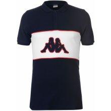 Kappa Panel Polo Shirt Mens Navy