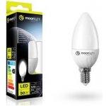 Moonlight LED žárovka E14 220-240V 5W 405lm 3000k teplá 25000h 2835 37mm/100mm