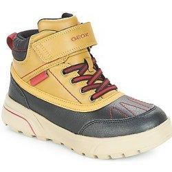 Dětská bota Geox Zimní boty Dětské J SVEGGEN BOY B ABX Žlutá 110f446817