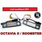 Škoda Octavia II 08-13 / Roomster 06-10 LED osvětlení SPZ