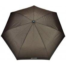 Pánský skládací deštník Pierre Cardin 601 - hnědý