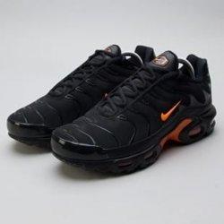 Nike Air Max Plus TN SE black total orange