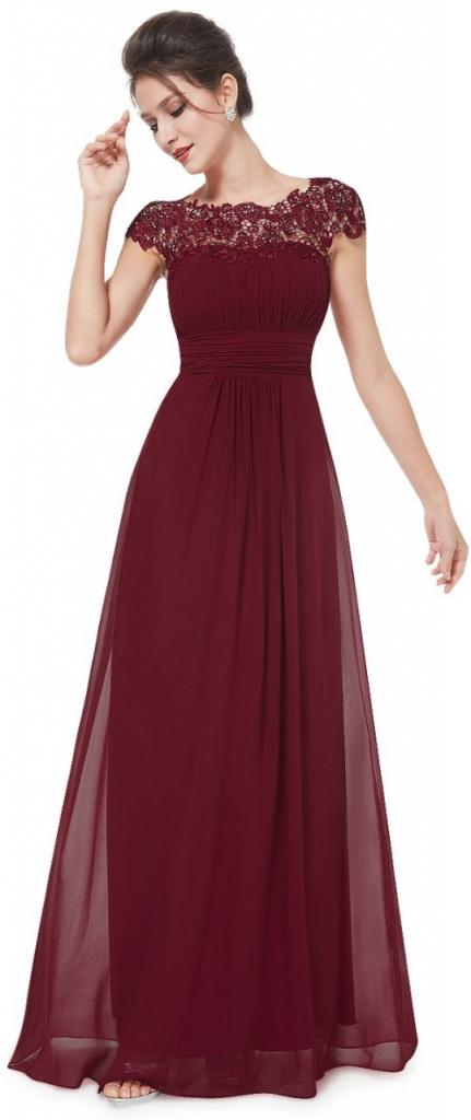 Plesové šaty Ever Pretty plesové a společenské šaty s krajkou 94EV ... 5081518ed7