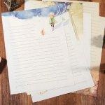 """Svět pásek Dopisní papír """"Malý princ"""" 8ks, A4 (DOPISNI0001)"""