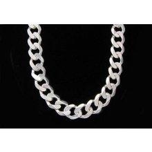 Pánský stříbrný řetěz ŘS058