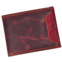 Harvey Miller Polo Club 5028 250 E hnědá pánská kožená peněženka