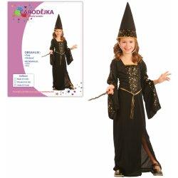 e816bd22252 Detsky kostym carodejnice. Dětský karnevalový kostým Šaty ČARODĚJKA