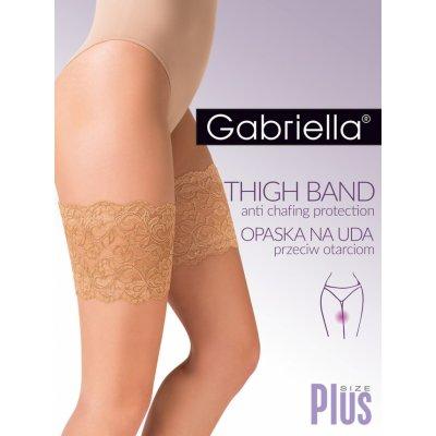 Gabriella Plus Size 509 pásek na stehna nero