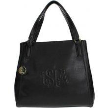 U.S Polo Assn. BEUHR0115WV Handbag Women BLACK černá