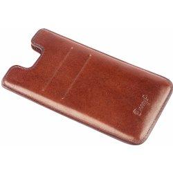 Pouzdro Danny P. Kožené iPhone 7 6S 6 Tmavě hnědé 5104d6ab95f