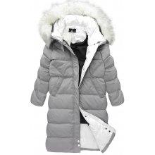 StreetIN Dámská zimní bunda šedá