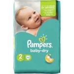 Pampers Baby-Dry 2 Mini 3-6 kg 42 ks