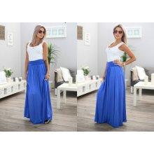 363260249 Fashionweek dlouhá letní sukně ze vzdušného materiálu MAXI MF5/M266 modrá