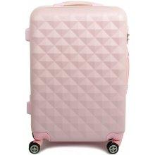 SUITCASE LORENBAG 2028 kufr malý 39x23x56 cm, Světle růžová