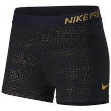 Nike w np short 3in mtlc dots 932388-010 černá d996a6e12b