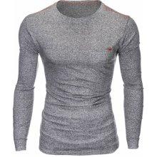 Pánské tričko s dlouhým rukávem Grim šedé ee85d6159f