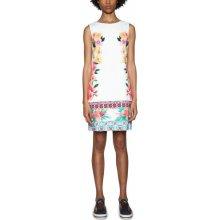 47b10a63b29 Desigual dámské šaty Cher bílá
