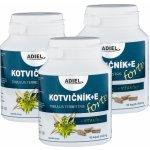 Adiel Trojbalení Kotvičník zemní Forte s vitamínem E 3 x 90 cps.