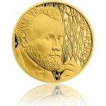 Česká mincovna Zlatá půluncová mince Gustav Klimt 15,56 g
