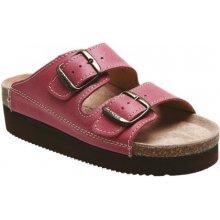 Santé N/25/C30/H/K/CP červené zdravotní pantofle