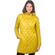 Geox dámský péřový kabát žlutá