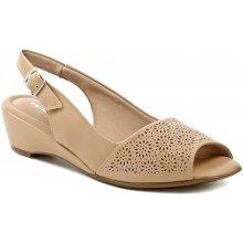 9da233369 Piccadilly 161142 béžové dámské sandály