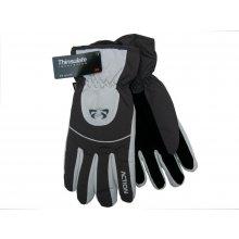 48d3596bbc5 Action pánské lyžařské rukavice GS407-2 šedé