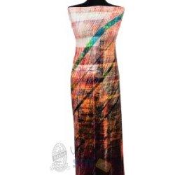a49476248ba1 Metráž - Úplet Vis Span PANEL METRIX 9999 98 - látka na šaty