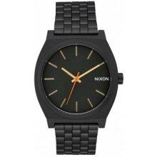 Nixon Time Teller all black surplus