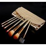 4HAUS Profesionální sada 7 kosmetických štětců Make-Up s kabelkou