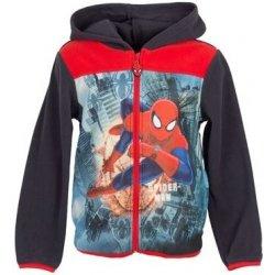 a37c0bbc51 Dětský svetr Sun City mikina Spiderman fleece s kapucí modrá