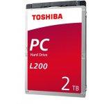"""TOSHIBA L200 2TB, 2,5"""", HDWL120UZSVA"""