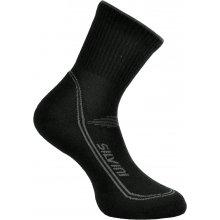 Silvini ponožky MERINO LATTARI UA904 black-charcoal 3d3ba9b60f