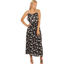 Letní maxi šaty s květinovým vzorem 242490 černá od 560 Kč - Heureka.cz af15f30c9e