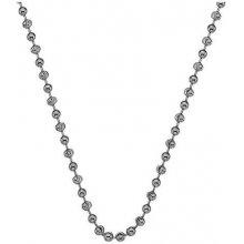 Hot Diamonds Stříbrný řetízek Emozioni Rhod Plated Bead Chain 18 CH016